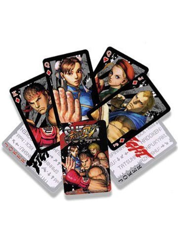 Street Fighter Super IV Playing Cards Poker Deck ()