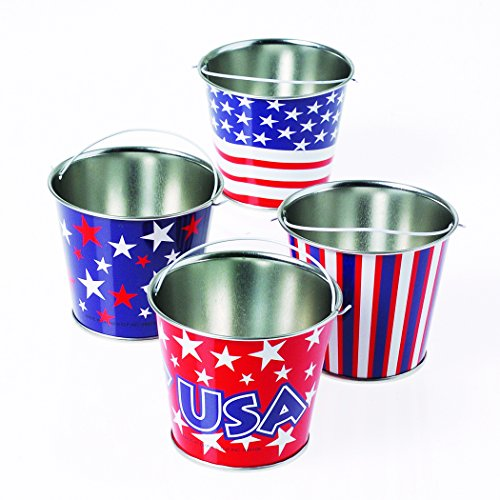 - Marvel Trading Company, Inc. Assorted Mini Patriotic Pail 2.75