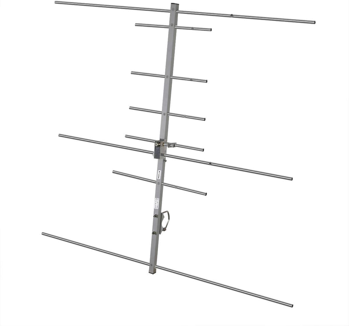 Ailunce AY04 Antena direccional Yagi UHF VHF 144 MHz 430 MHz Antena de alta ganancia 9.5/11.5 dBi para transmisores móviles de radio bidireccional (1 ...