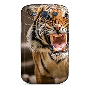 Pchcase Fashion Protective Tiger Growl Case Cover For Galaxy S3