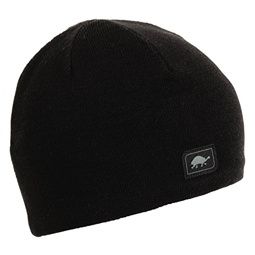 Turtle Fur Merino Solid Beanie, Black, X-Large