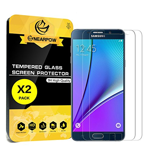 Tempered Glass Screen Protector for Samsung Note 5 - 7