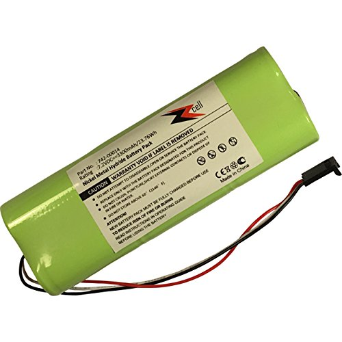 ZZcell Battery for Applied Instruments SuperBuddy 21, Super Buddy 29 Satellite Signal Meter 742-00014 / 3300mAh