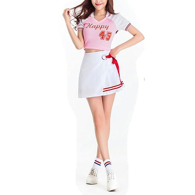 Vestido de la Copa del mundo de niña Vestido de la animadora de fantasía  Uniforme de rendimiento sexy de bebé de fútbol  Amazon.es  Ropa y accesorios 00ad23baa6fbb