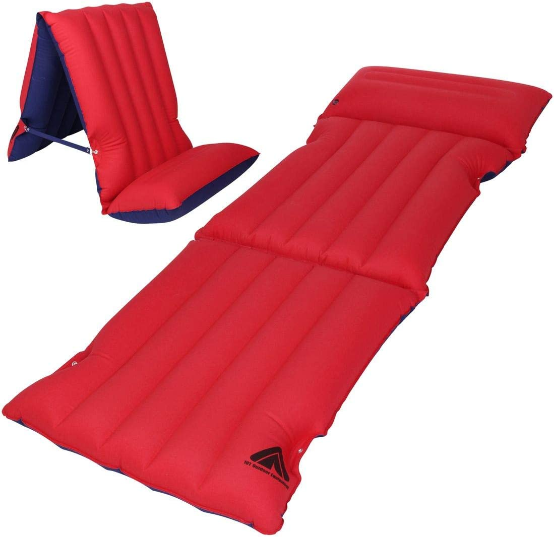 Yellowstone Reed Gonflable Air Camping sauter Matelas Air Lit Taille 185X70cm