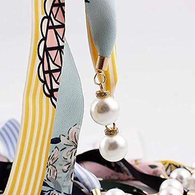 2.5cm Ruikey Mouchoir floral nou/é Ceinture /à suspendre en verre D/écoration de la robe 165