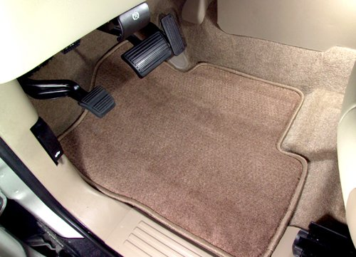 Avery's AV-24-201-451 Jeep Grand Cherokee 1993-1998 Touring Custom Fit One Piece Carpeted Medium Cargo Mat With Full Size Spare - Black