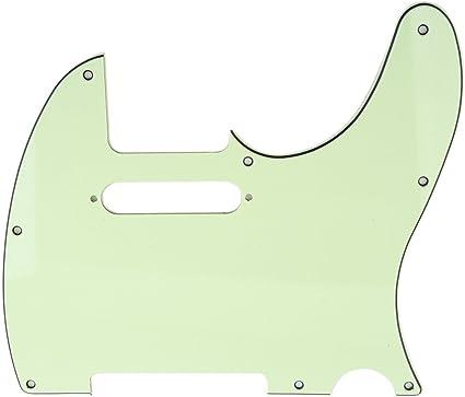 MINT GREEN Genuine Fender American Standard Tele//Telecaster Guitar Pickguard
