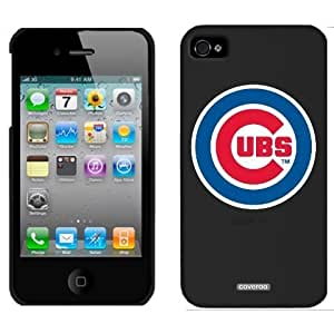 Chicago Cubs - Cubs In Circle design on Black iPhone 4s / 4 Thinshield Snap-On Case