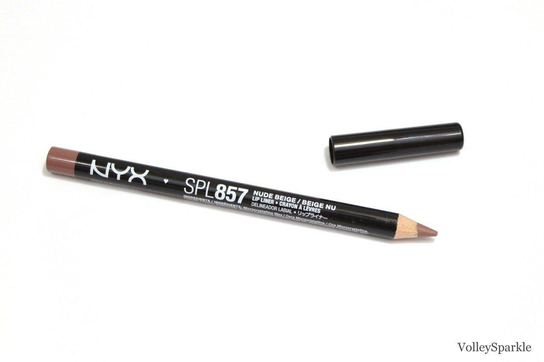 NYX Slim Lip Liner Pencil - Nude Beige - SLP 857 NYX Cosmetics NYX-SPL857