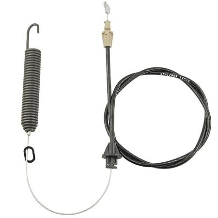 Cubierta compromiso Cable w/primavera MTD Troy Bilt 946 - 04173e ...