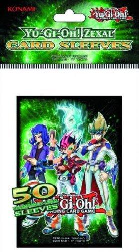 Konami Digital Entertainment 89355 Yugioh Dp Zexal Card Sleeves - 50 (Best Yugioh Zexal Cards)