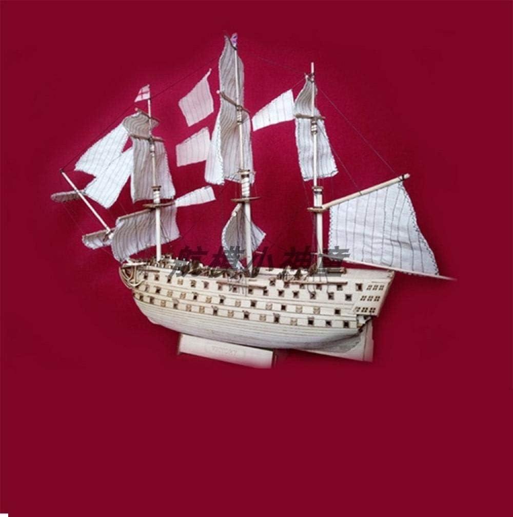 SIourso Maquetas Debarcos Kits De Victory Western Antiguo Velero Ensamblado Modelo DIY Acorazado De Madera Modelo Royal British Famoso Barco
