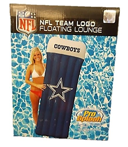 SplashPro DALLAS COWBOYS OFFICIAL LOGO INFLATABLE POOL FLOAT RAFT -