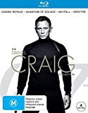 Casino Royale / Quantum of Solace / Skyfall / Spectre | 4 Discs | NON-USA Format | Region B Import - Australia