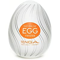 "Oeuf plaisir ""Tenga"" Twister orange"