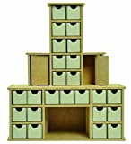 Kaisercraft SB2270 Beyond The Page MDF Chimney Advent Calendar, 13.5 by 4 by 15.5-Inch
