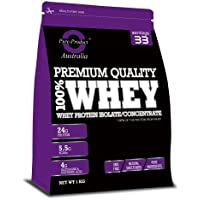 Pure Product Australia 100% Whey Protein Isolate & Concentrate MOCHA 1kg