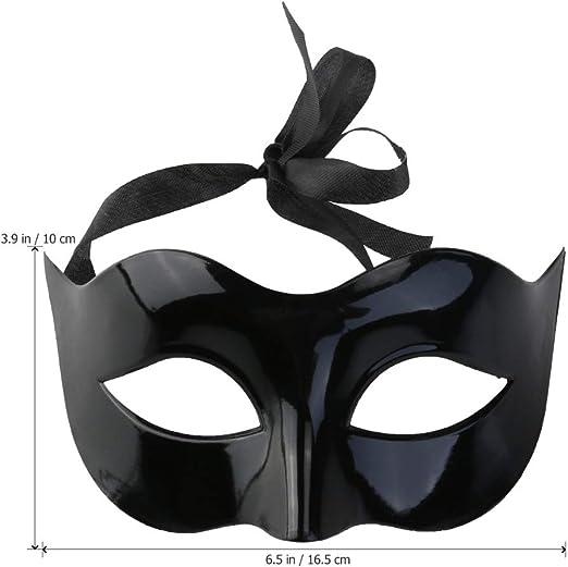 Máscaras para baile de disfraces con palo, hombres mujeres disfraz ...