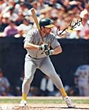 Carney Lansford Autographed/Original Signed 8x10 Photo w/the Oakland Athletics (1983-1992)
