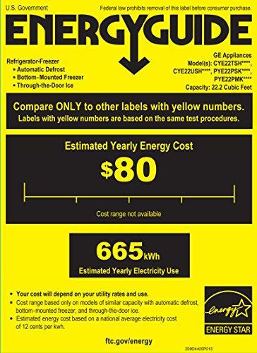 GE CYE22TSHSS Cafe 22.1 Cu. Ft. Stainless Steel Counter Dept