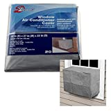WJ  Dennis & Company Outdoor Window Unit Air Conditioner Cover Model 20 Medium For Outside Winter