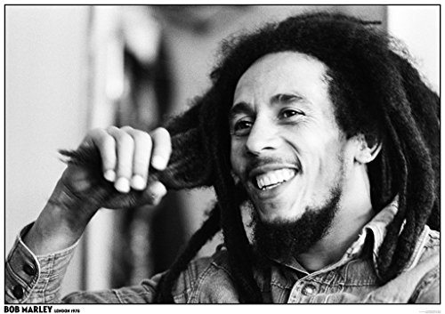 Art-I-Ficial Bob Marley London 1978 Music Poster 33x23.5 inch
