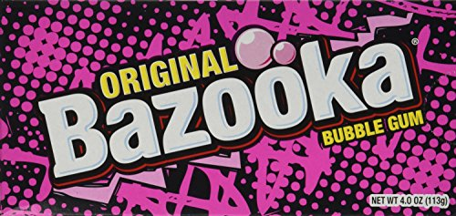 Bazooka Original Bubble Gum Pack