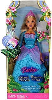 Barbie The Island Princess Rosella Doll With Pink Tiara New in Box by Mattel.NEW