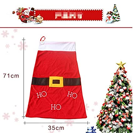 sala synth large size christmas gift bags new year santa cloth bag christmas decoration