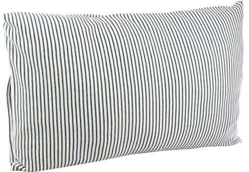 DorDor & GorGor ORGANIC Toddler Pillowcase, Envelope Enclosure, 100% Cotton (Gray) by Dordor & Gorgor