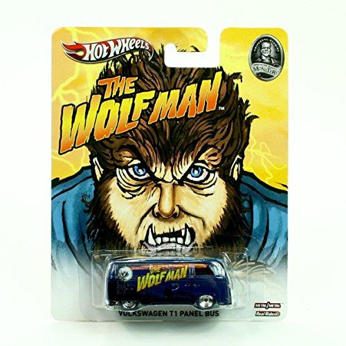 BUS * THE WOLFMAN / UNIVERSAL STUDIOS MONSTERS * Hot Wheels 2013 Pop Culture Series 1:64 Scale Die-Cast Vehicle (Volkswagen Truck Bus)