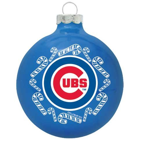 Chicago Cubs Christmas Tree Ornament