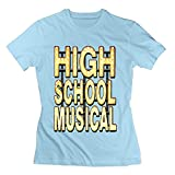 Youqian High School Musical Womens T-Shirt SkyBlue Womens