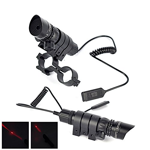 - GOHIKING Outdoor Hunting Adjustable Optics Red Dot Sight Scope w/ 20mm Mounts