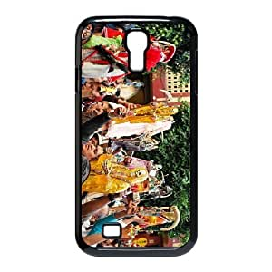 Disney All Characters Stained Glass For SamSung Galaxy S4 Case GHLR-T419256