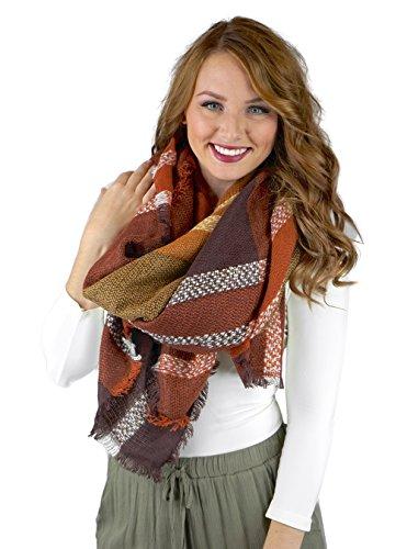Stylish Oversized Blanket Gorgeous Fringe