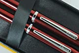 Cross Century II Limited Series, Pearlescent Metallic Ruby red selectip Gel Ink Rollerball Pen and Ballpoint Pen. A Great Gift to Anyone, Especially Him and Her