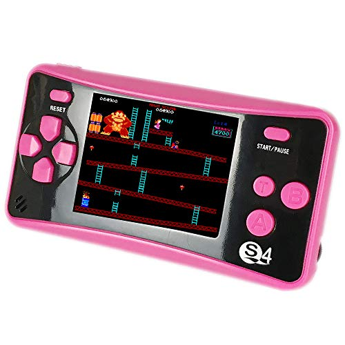 QINGSHE Retro Portable Game Console, 2.5 Inch Screen 182...