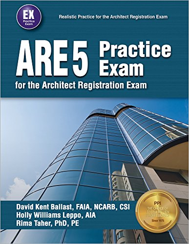 ARE 5 Practice Exam for the Architect Registration Exam PDF