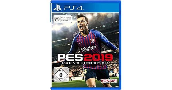 PES 2019 - PlayStation 4 [Importación alemana]: Amazon.es: Videojuegos