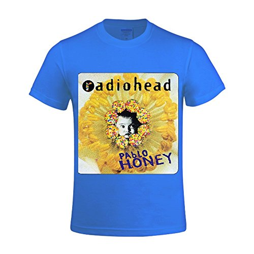 Radiohead Pablo Honey Men Shirts Crew Neck Sleeveless