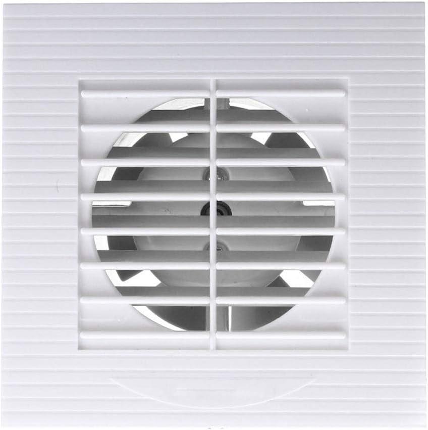 JYDQM Ventilador de escape de ventilación de 12 W y 4 pulgadas, ventilador de montaje en pared de techo de baño, ventilador de pared de ventana, cocina, inodoro, ventilador de baño, tamaño de orificio