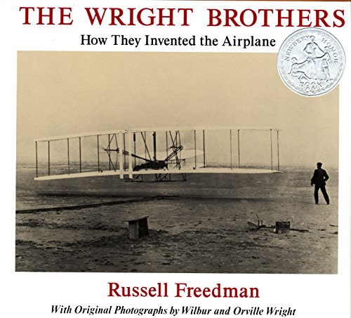 A Newbery Honor-winning biography of the men whose experiments brought about the Age of Flight.  This engaging narrative account of Orville and Wilbur Wright, two men with little formal schooling but a knack for solving problems, follows their inter...