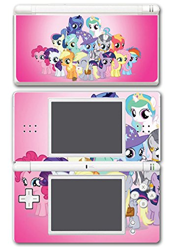 My Little Pony Friendship is Magic MLP Friends Cutie Marks Video Game Vinyl Decal Skin Sticker Cover for Nintendo DS Lite System (Nintendo Ds Lite Stickers)