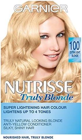 Garnier Nutrisse Creme Lightening 10 extra luz rubio: Amazon ...