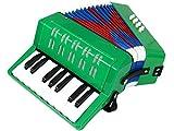 D'Luca G104-GR Kids Piano Accordion 17 Keys 8