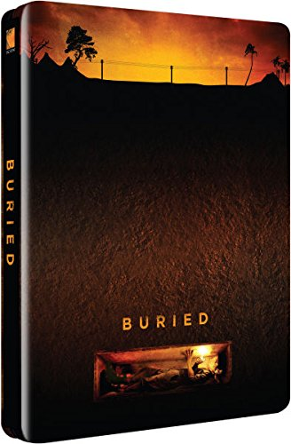Buried Blu-ray Steelbook (Region B) Zavvi Exclusive Ultra Limited Edition #/2000 [Blu-ray] [2012]
