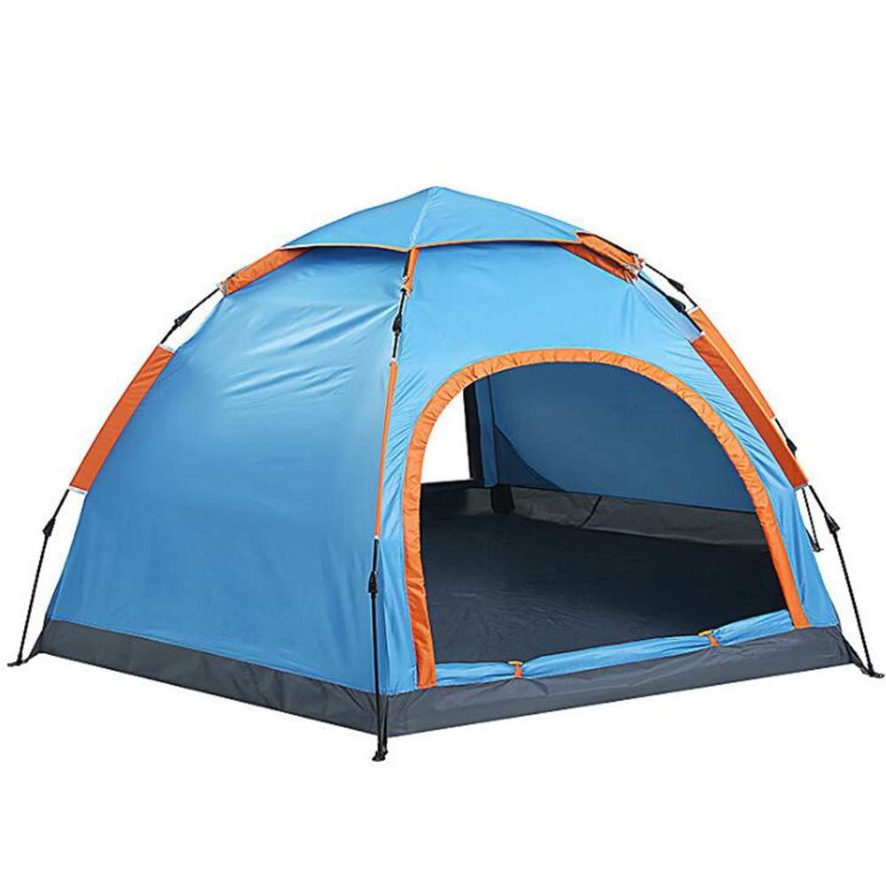 TYJH 3-5 Mann Zelt, 3-5 Personen Tunnelzelt, Campingzelt, Campingzelt, Campingzelt, leichtes Trekkingzelt mit Vorzelt, wasserdicht 240  240  140cm,Automatisches Campingzelt B07PFF76R7 Wurfzelte König der Quantität 596cac