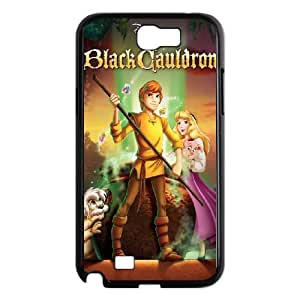 Samsung Galaxy Note 2 Black phone case Classic Style Disney Cartoon Black Cauldron, The WHD8957894